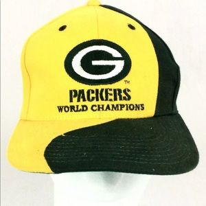 VTG Green Bay Packers championship hat